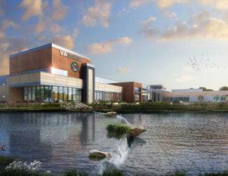 artist rendering Tulsa VA Health Care Center